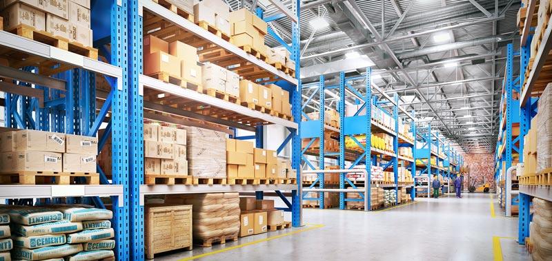 Paleco Lagerhalle Logistik